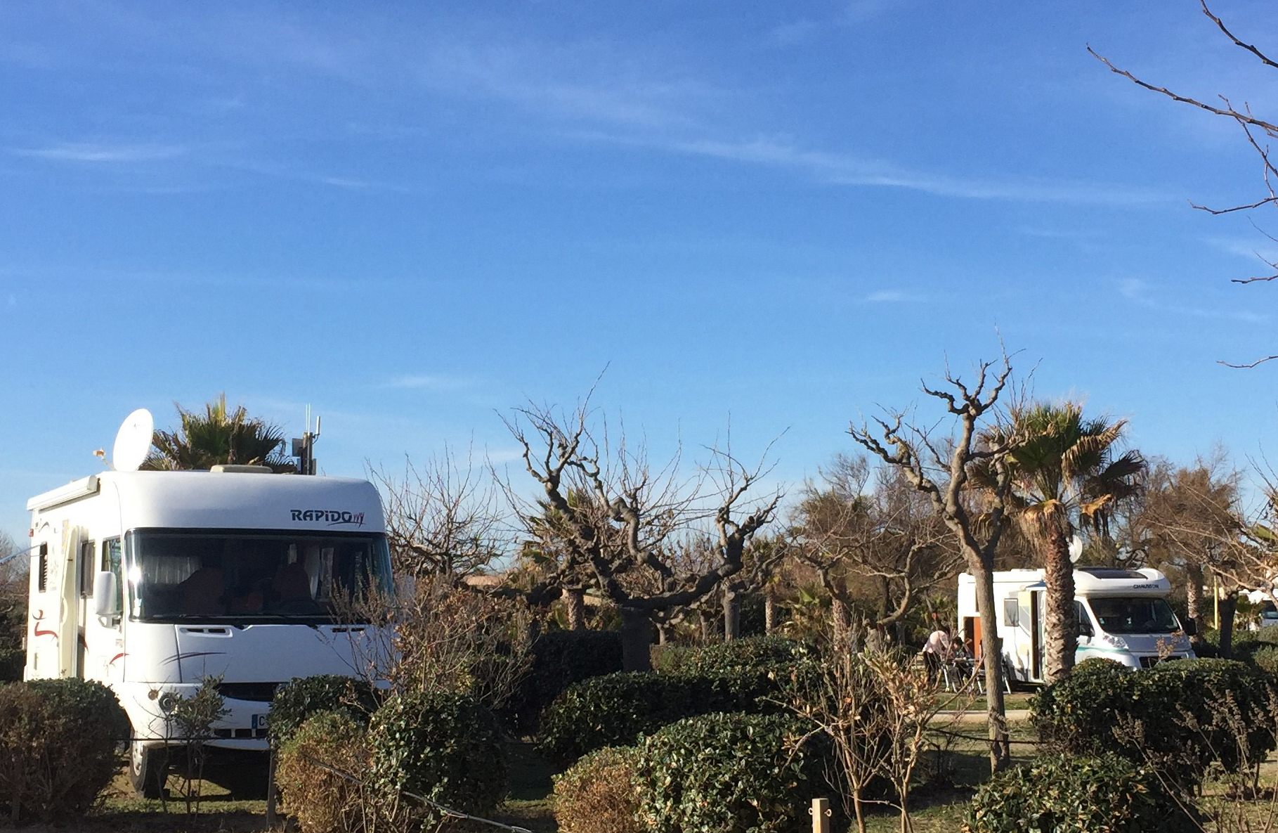 stationnement aire camping-car