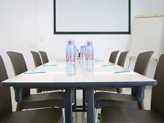 table de réunion de travail