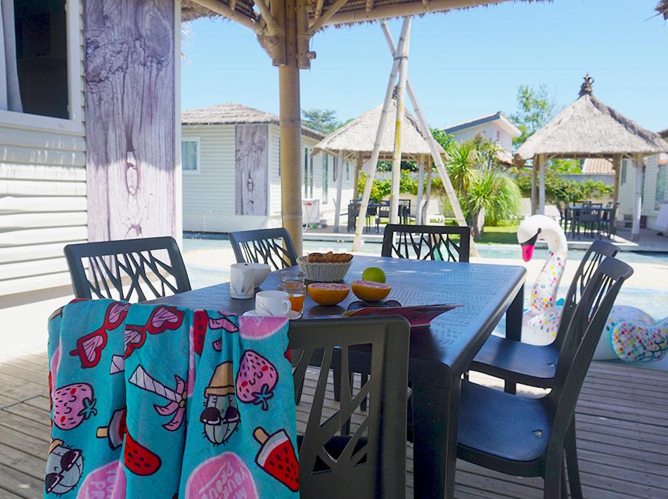 Location de vacances avec lagons camping club farret vias plage