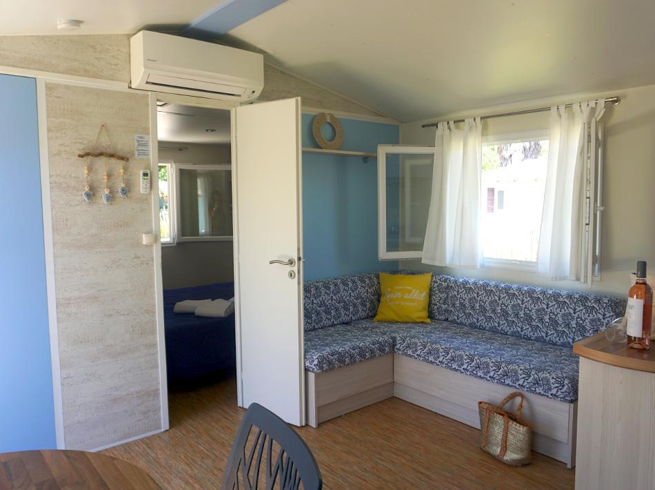 Camping Club Farret Vias plage mobil-home haut de game