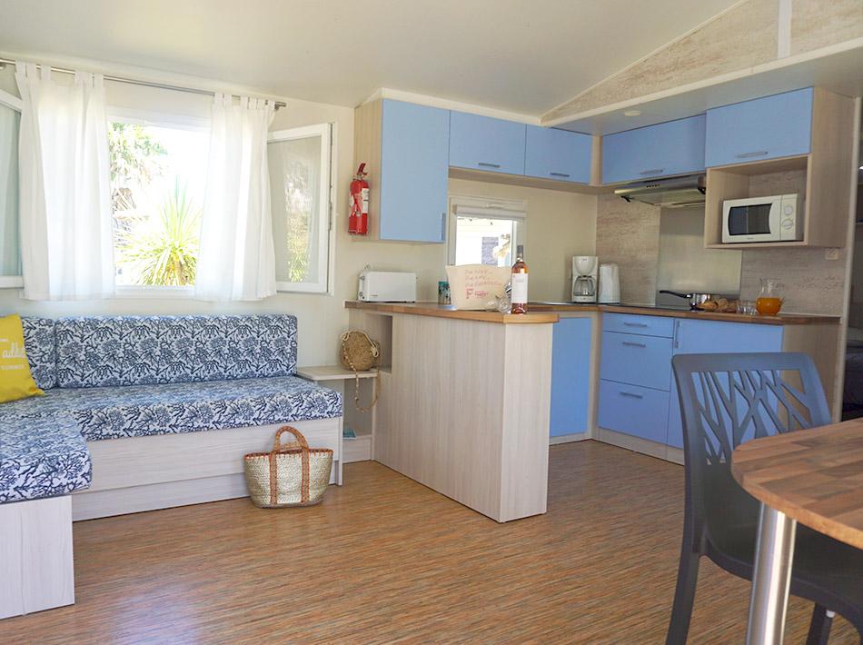 Cottage tout équipé avec climatisation et TV