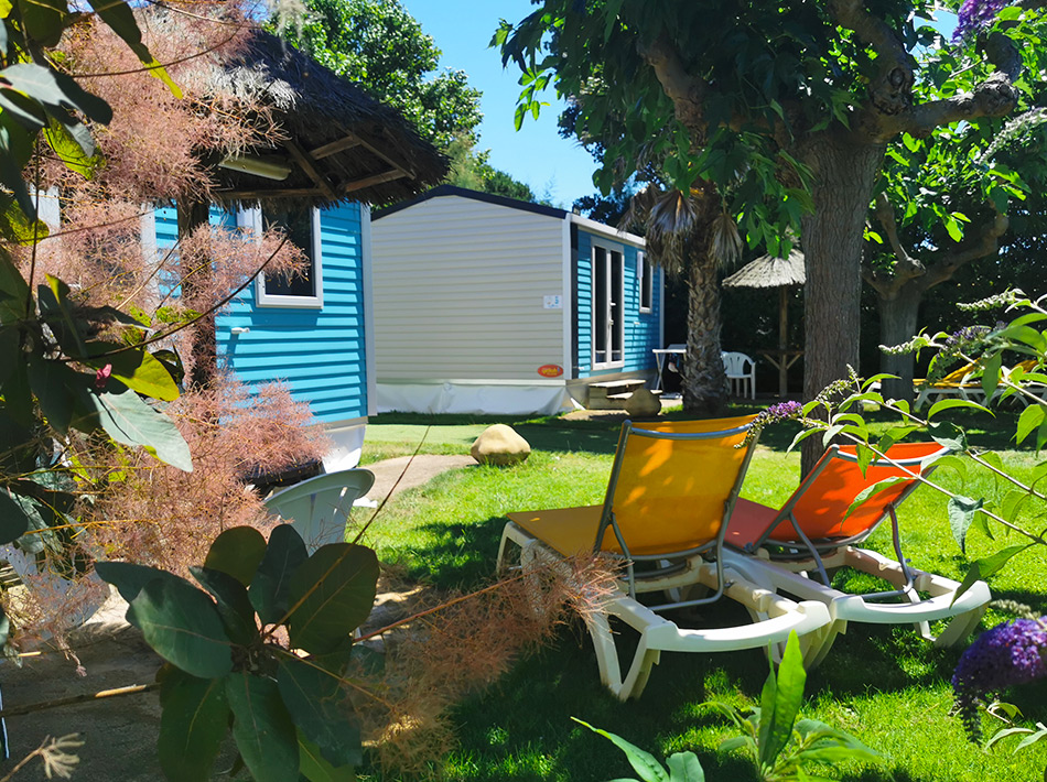 Cottage avec pelouse 2/3 personnes club farret