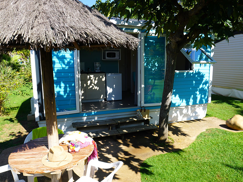 Mobile home for two people at Club Farret in Vias Plage