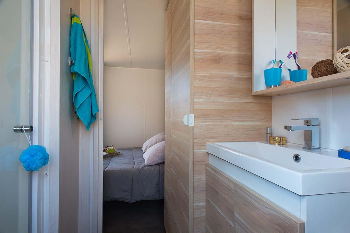 Salle de bain de mobilhome California