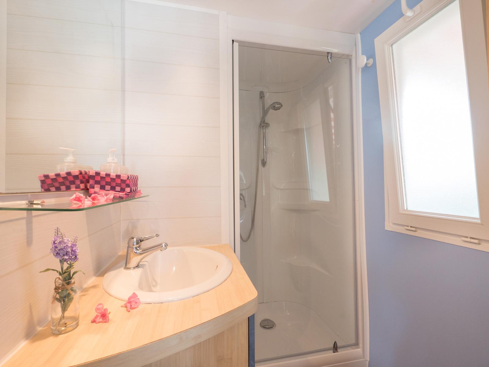 Salle de bain de mobilhome