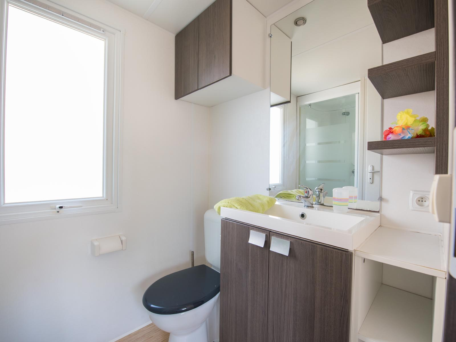 Salle de bain de cottage
