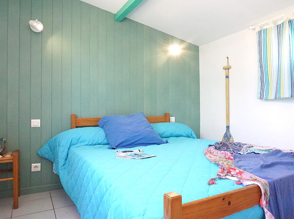 hébergement bord de mer au club Farret à vias, studio sans sanitaire
