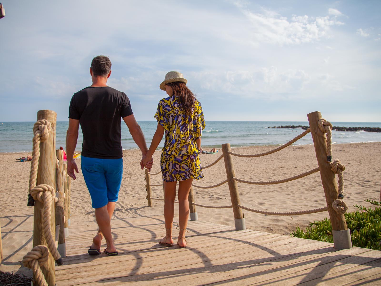 Couple Vias plage