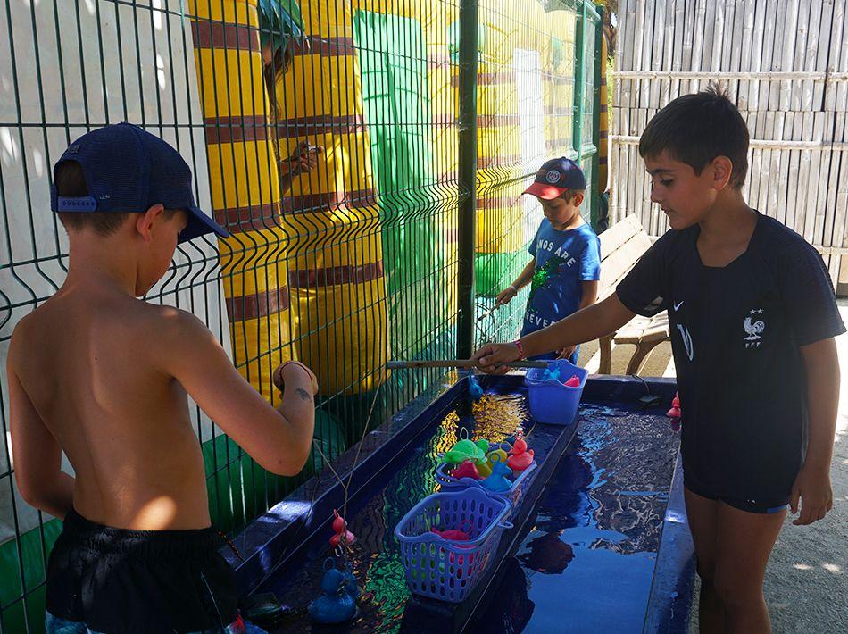 kids club, pêche au canards, animations pour les enfants