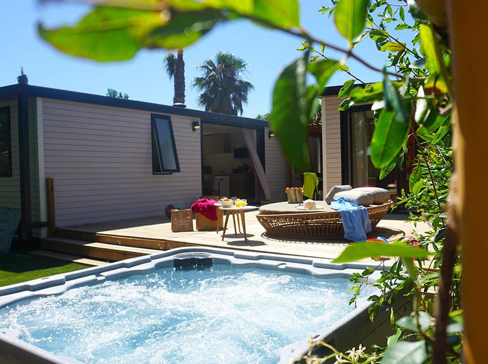 Cottage avec spa privée à Vias Plage