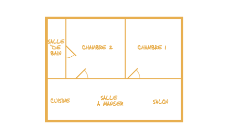 plan maisons de vacance 4 personnes