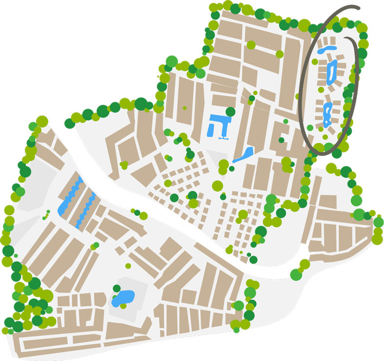 Plan du quartier Pacific
