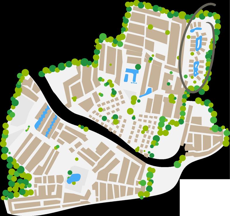 Plan du quartier Pacific