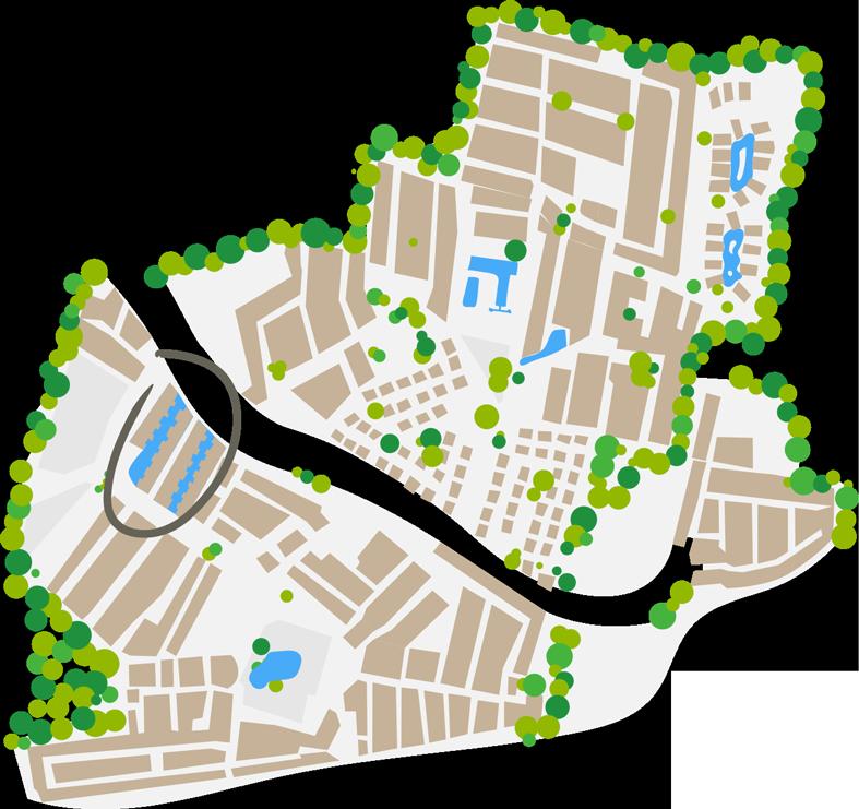 plan cottage marina camping farret à vias
