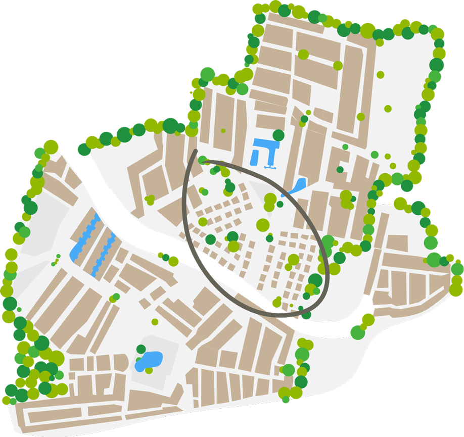 Plan du quartier Maisons vacances