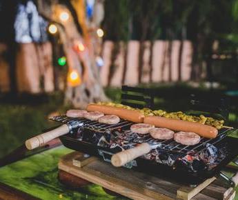 Een geslaagde barbecue