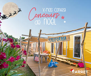 Win your stay by the sea at Camping Club Farret!